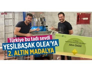 Yeşilbaşak Olea Zeytinyağ'a ikinci altın ödül